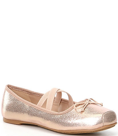 Copper Key Girl's Dancir Ballerina Flats Toddler