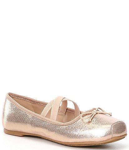 Copper Key Girls' Dancir Ballerina Flats (Youth)