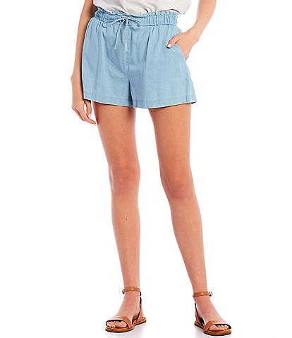 Copper Key High Waisted Soft Shorts