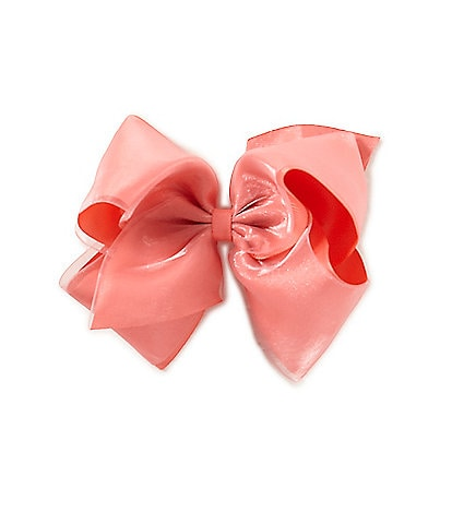 Copper Key Girls King Organza Bow
