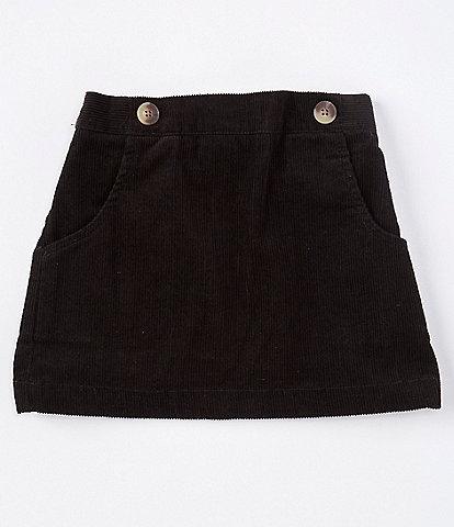 Copper Key Little Girls 2-6X Baby Corduroy Button Skirt