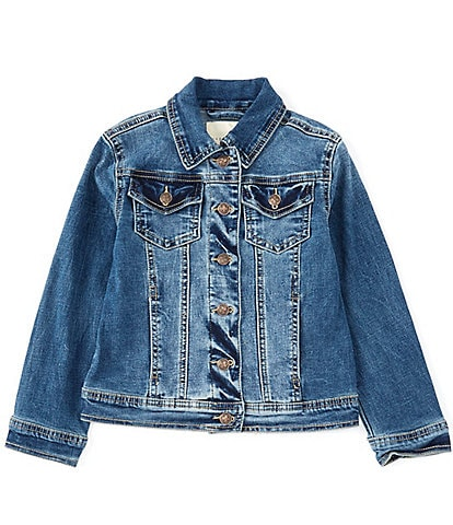 Copper Key Little Girls 2T-6X Denim Jacket