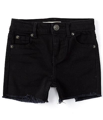 Copper Key Little Girls 2T-6X Fray Hem Shorts