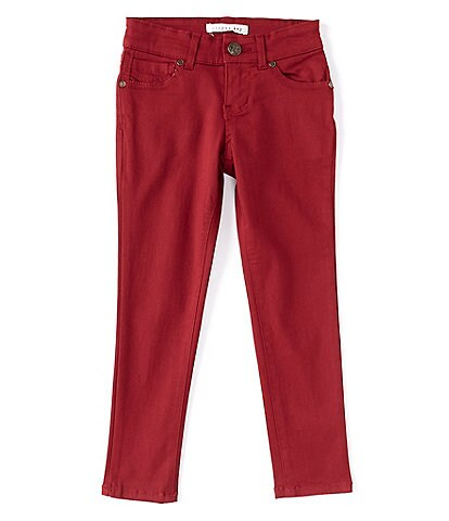 Copper Key Little Girls 2T-6X Sateen Straight-Leg Jeans