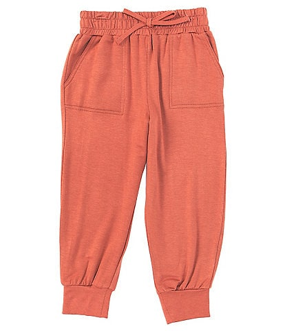 Copper Key Little Girls 2T-6X Terry Jogger Pants