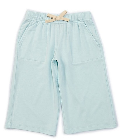 Copper Key Little Girls 2T-6X Wide-Leg Cropped Pant