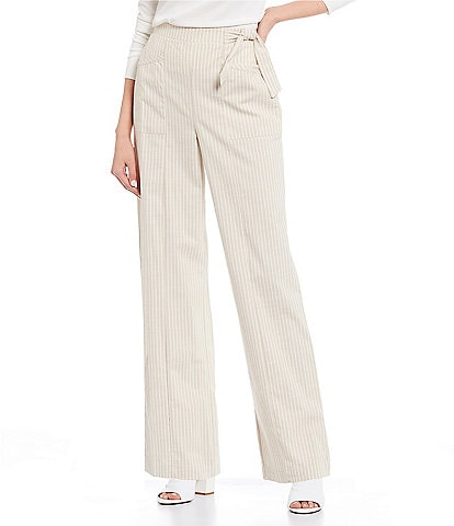 Copper Key Stripe Side-Tie Pants