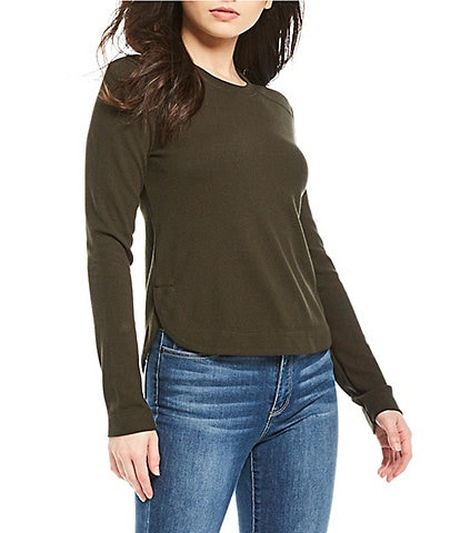 Copper Key Thermal Long-sleeve Knit Top