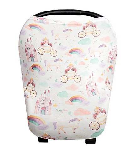 Copper Pearl Baby Girls Enchanted 5-In-1 Multi-Use Cover