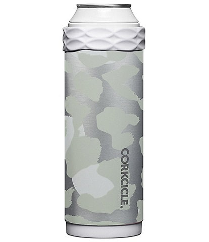 Corkcicle Stainless Steel Double-Wall Snow Leopard Slim Arctican