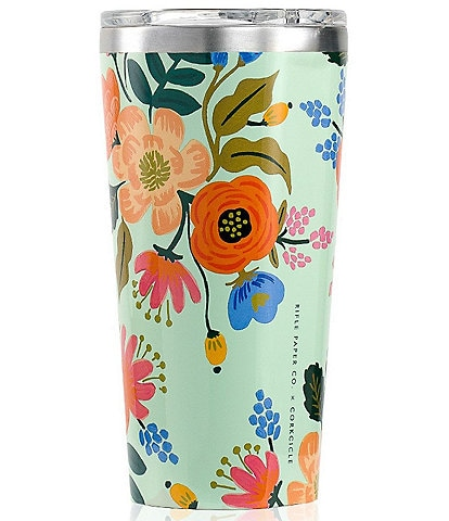 Corkcicle Rifle Paper Co. Stainless Steel Triple-Insulated 16-oz Tumbler