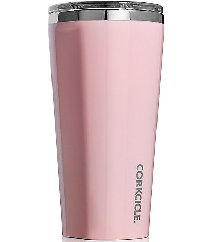 Corkcicle Stainless Steel Triple-Insulated 16-oz. Rose Quartz Tumbler