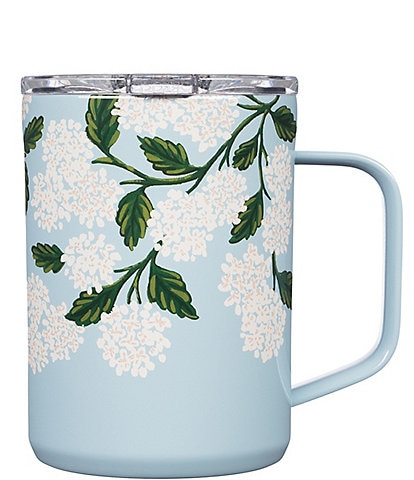Corkcicle Rifle Paper Co. Stainless Steel Triple-Insulated Coffee Mug