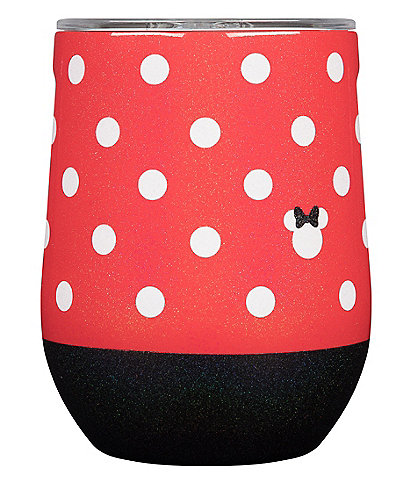 Corkcicle Stainless Steel Triple-Insulated Minnie Stardust Stemless Wine Cup