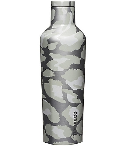 Corkcicle Stainless Steel Triple-Insulated Snow Leopard 16-oz Canteen