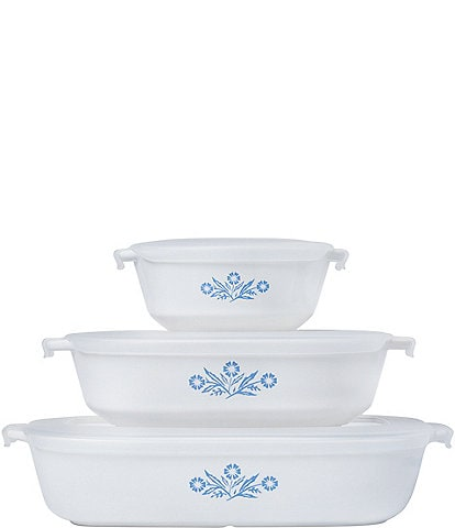 CorningWare 60th Anniversary 6-Piece Bakeware Set