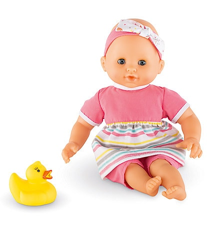 Corolle Dolls Bebe Bath Girl 12#double; Baby Doll