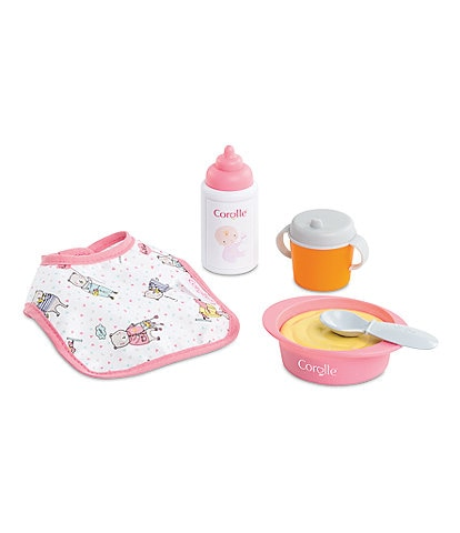 Corolle Dolls Mealtime Set for 12-inch Corolle Baby Doll