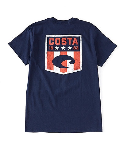 Costa Men's Anthem Short Sleeve Graphic T-Shirt