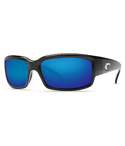 Costa Caballito Black Blue Mirror Polarized Sunglasses