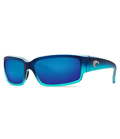 Costa Caballito Mirror Polarized Rectangle Sunglasses
