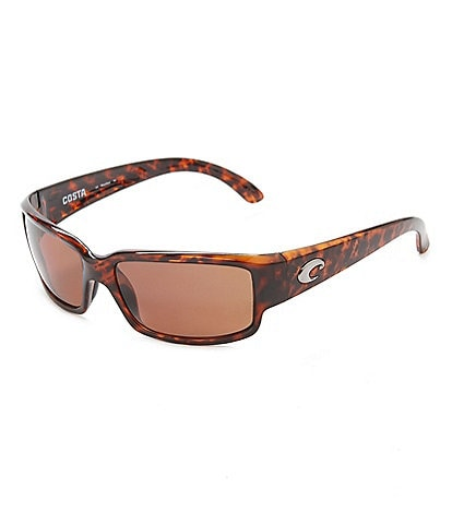 Costa Tortoise Caballito Polarized Wrap Sunglasses