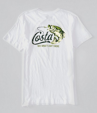 Costa Casting Bass Short-Sleeve Graphic Tee