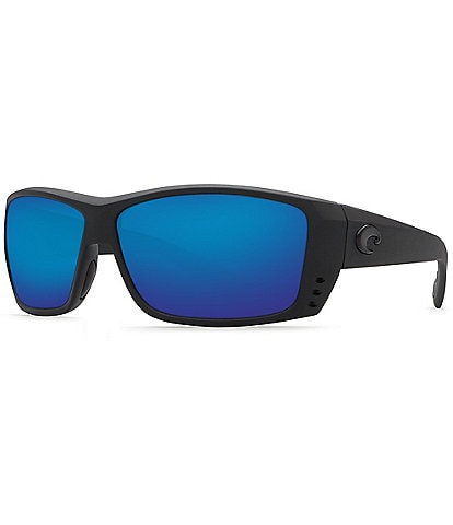 Costa Cat Cay Polarized Wrap Sunglasses