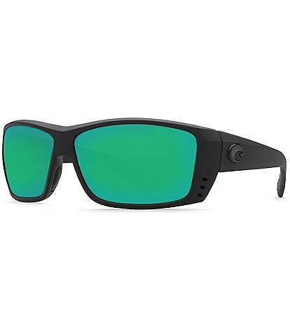 Costa Cat Cay Polarized Wrap Sunglasses