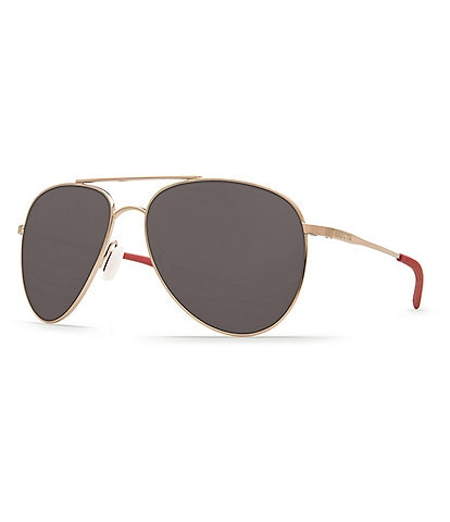 Costa Cook Polarized Aviator Sunglasses