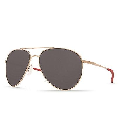 Costa Cook Polarized Aviator Sunglasses
