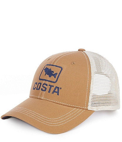 Costa Embroidered XL Bass Trucker Hat