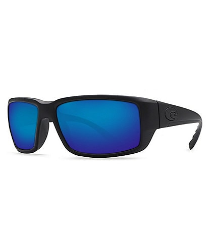 Costa Fantail Polarized Tonal Logo Wrap Sunglasses