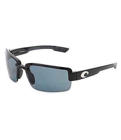 Costa Galveston Rimless Rectangle Sunglasses