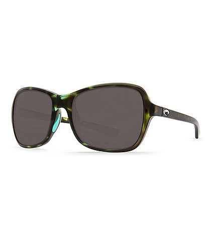 Costa Kare Tortoise Polarized Butterfly Sunglasses