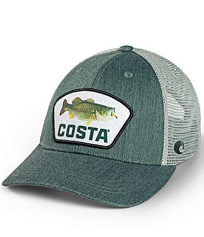 Costa Largemouth Bass Topo Trucker Hat
