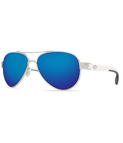 Costa Loreto Double Bridge Polarized UVA/UVB Protection Aviator Sunglasses