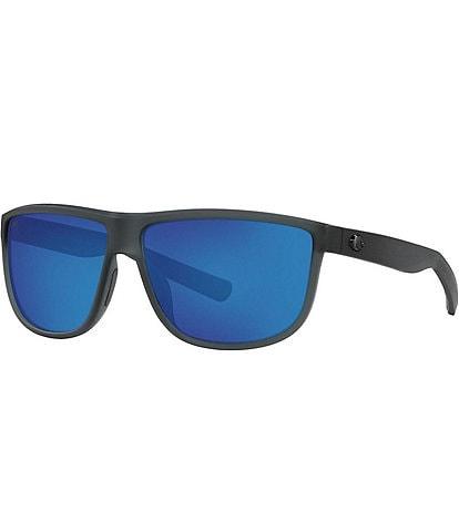 Costa Men's Rincondo Polarized 61 mm Oval Sunglasses