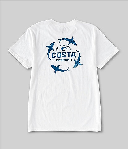 Costa Ocearch Collection Circle Short-Sleeve Graphic T-Shirt