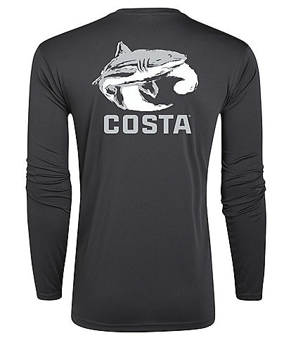 Costa Ocearch® Tech Wave Long-Sleeve Graphic T-Shirt