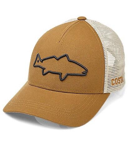 Costa Red Fish Stealth Trucker Hat