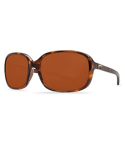 Costa Riverton Polarized Oval Sunglasses