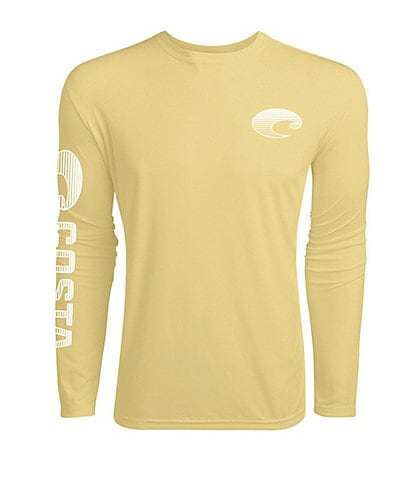 Costa Tech Core Long-Sleeve Performance Rashguard Crew Shirt