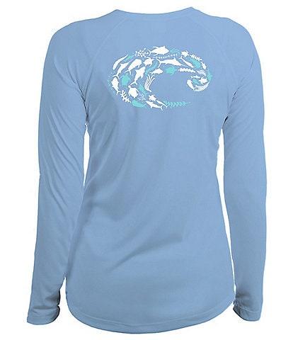 Costa Technical Flotilla Long-Sleeve Graphic T-Shirt