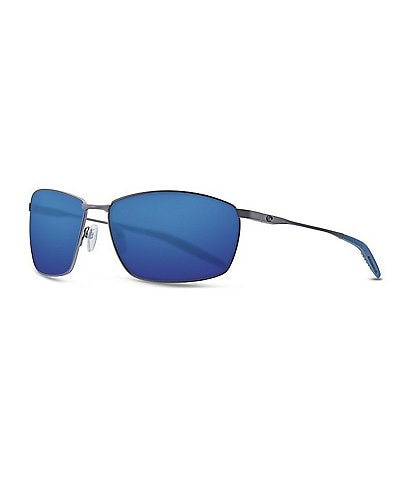 Costa Turret Polarized Rectangle Sunglasses