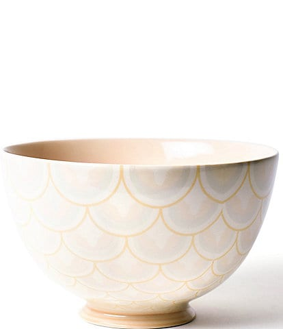 Coton Colors Blush Layered Arabesque 9#double; Footed Bowl