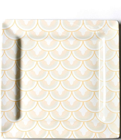 Coton Colors Blush Layered Arabesque Square Platter