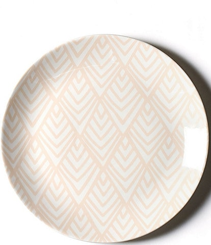 Coton Colors Blush Layered Diamond 11#double; Dinner Plate