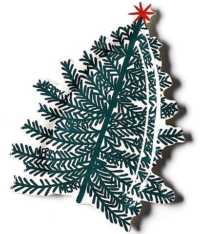 Coton Colors Merry Tree Collection Tree Platter