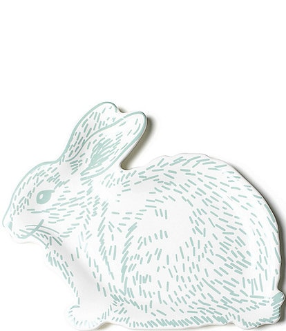 Coton Colors Speckled Rabbit 12.5#double; Platter